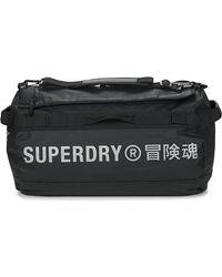 Superdry Tarp Holdall Travel Bag - Black