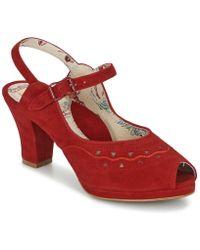 Miss L'Fire | Blumi Women's Sandals In Red | Lyst