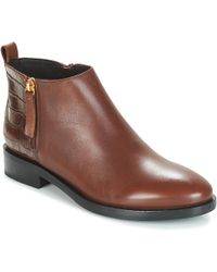 Geox - Donna Brogue Mid Boots - Lyst