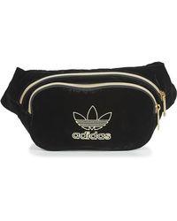adidas Heuptas Waistbag Velvet - Zwart
