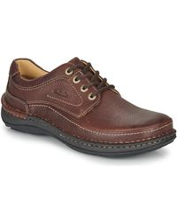 Clarks NATURE THREE hommes Chaussures en Marron