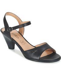 Les P'tites Bombes - Feerie Women's Sandals In Black - Lyst