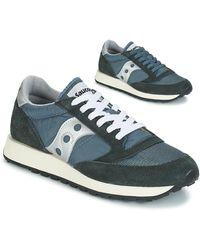 Saucony Lage Sneakers Jazz Original Vintage - Blauw