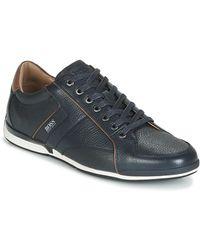BOSS by Hugo Boss Lage Sneakers Saturn Lowp Tbpf1 - Blauw