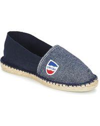 ae15b2d73f0 1789 Cala - Classique Bicolore Men s Espadrilles   Casual Shoes In Blue -  Lyst