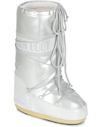 Moon Boot Snowboots Vynil Met - Wit