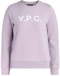 A.P.C. - Sweatshirt Viva - Lyst