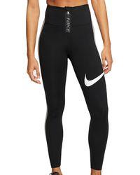 Nike Legging Power 7/8 Tights Women - Zwart