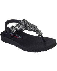 Skechers Sandalen - Zwart