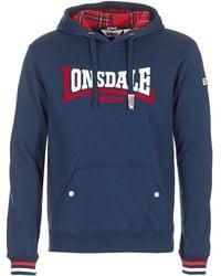Lonsdale London - Flore Men's Sweatshirt In Blue - Lyst