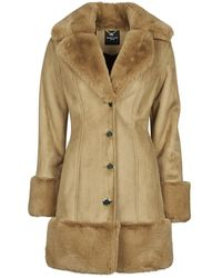 Marciano Mantel Mollie Sherling Coat - Naturel