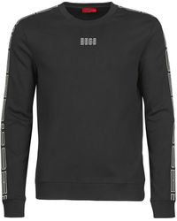 HUGO Sweater Doby203 - Zwart