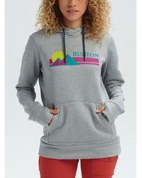 Burton Sweater Wo Oak Po Hoodie - Grijs