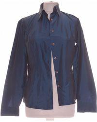 Sisley Chemise 36 - T1 - S Chemise - Bleu