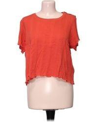 Claudie Pierlot Top manches courtes - M Blouses - Orange