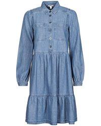 Esprit Abito Corto Coo Dress - Blu