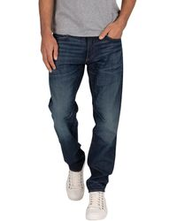 G-Star RAW Jeans D-Stag 5 poches slim jeans - Bleu