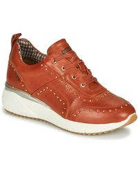 Pikolinos Lage Sneakers Sella W6z - Rood