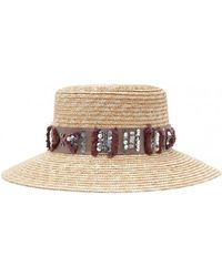Amenapih - Straw Hat , Cumin - Cordoue Women's Hat In Brown - Lyst