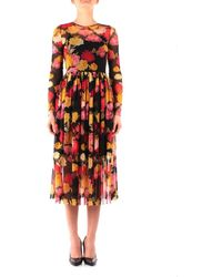 iBlues Isernia Long Dress - Black