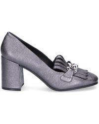 Elvio Zanon Chaussures escarpins - Gris