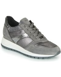 Geox Lage Sneakers Tabelya - Grijs