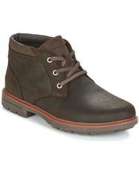 Rockport - Tough Bucks Chukka Men's Mid Boots In Brown - Lyst