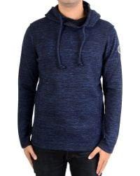 Le Temps Des Cerises - Sweatshirthirt Landry Blue Melanged Men's Sweatshirt In Blue - Lyst
