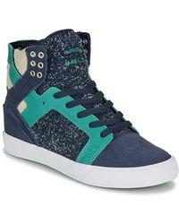 Supra Hoge Sneakers Skytop - Blauw