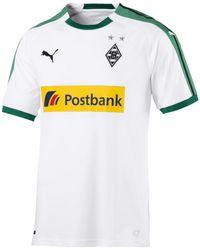 PUMA T-shirt Korte Mouw Borussia Mönchengladbach Domicile 18/19 - Wit