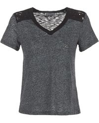 Casual Attitude T-shirt Korte Mouw Hine - Grijs