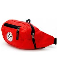 Smith's - Red Men's Hip Bag In Multicolour - Lyst
