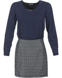 Betty London - Faguine Women's Dress In Blue - Lyst