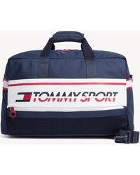 Tommy Hilfiger Au0au00614 Icon Duffle Bags Unisex Tommy Navy Sports Bag - Blue