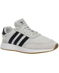 c5a31ab0ca8 Adidas Iniki Runner Men s Shoes (trainers) In Grey in Gray for Men ...