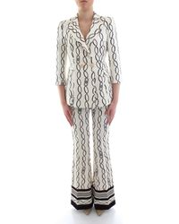 Elisabetta Franchi Kostuum Tp03101e2 - Zwart