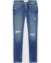 Calvin Klein J20J213992 - 011 MID RISE - Azul