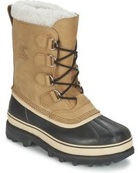 Sorel Snowboots Caribou - Naturel
