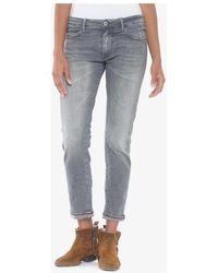 Le Temps Des Cerises Malo 200/43 boyfit jeans gris Jeans