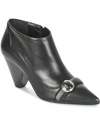 Sonia Rykiel Low Boots Solou - Zwart
