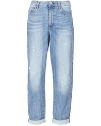 G-Star RAW Boyfriend Jeans Midge High Boyfriend - Blauw