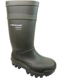 Dunlop | Purofort Thermo+ Men's Wellington Boots In Green | Lyst