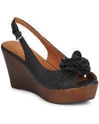 Moda In Pelle - Pecan Women's Sandals In Black - Lyst
