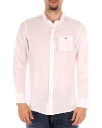 GANT 3040620 camisas hombre blanco