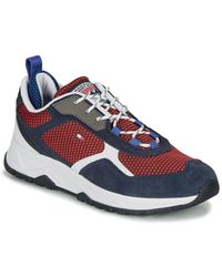 Tommy Hilfiger Lage Sneakers Fashion Mix Sneaker - Blauw