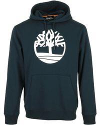 Timberland Core Tree Logo Hoodie - Azul