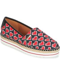 Love Moschino - Ja10103g15 Women's Espadrilles / Casual Shoes In Black - Lyst