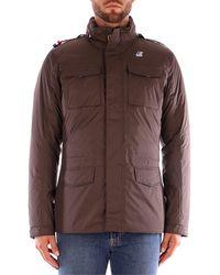 K-Way Cazadora MANFIELD THERMO PLUS chaquetas hombre marrón