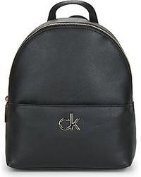 Calvin Klein Rucksack ROUND BP W/PCKT SM - Schwarz