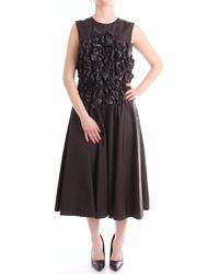 Dondup ROBE FEMME Robe - Noir